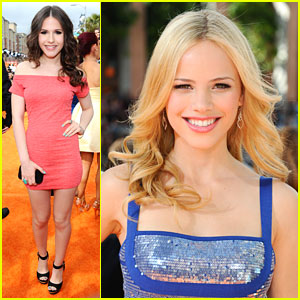Halston Sage &#038; Erin Sanders: Kids Choice Awards 2012