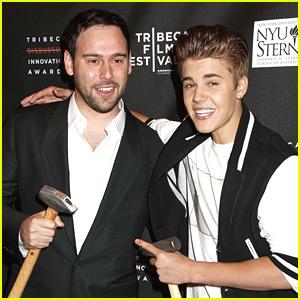 Justin Bieber Gets 'Disruptive' at Tribeca Film Festival