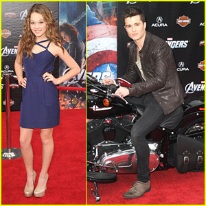 Spencer Boldman & Kelli Berglund: 'Rats' at the 'The Avengers' Premiere