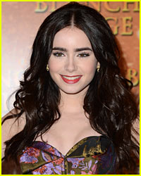 Lily Collins In Running For Best Dressed List!