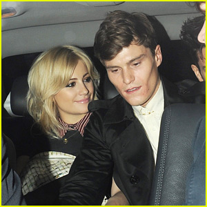 Pixie Lott & Oliver Cheshire: Rose Party Pair