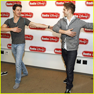 Shane Harper: Pirouette Lessons with Jake Whetter!