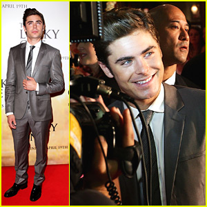 Zac Efron: 'The Lucky One' in Sydney