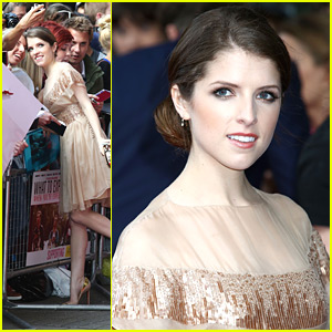Anna Kendrick: 'What To Expect' Premiere in London