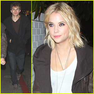 Ashley Benson &#038; Keegan Allen: 'Rebel' Exhibition After-Party