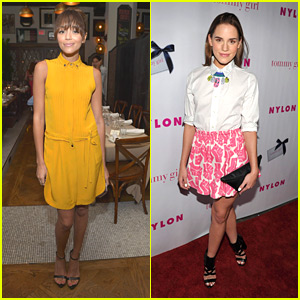 Ashley Madekwe: Nylon Party with Christa B. Allen