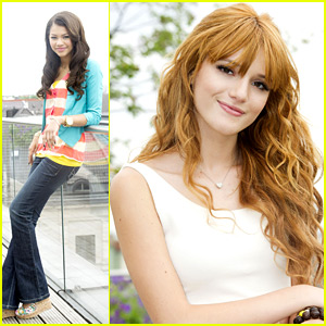 Bella Thorne & Zendaya: Munich Rooftop Photo Call