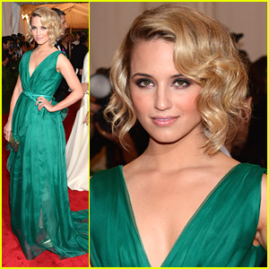 Dianna Agron - Met Ball 2012