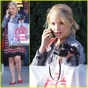 Dianna Agron: Samy's Camera Shopper