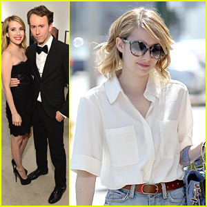 Emma Roberts Has a 'Mouthful'