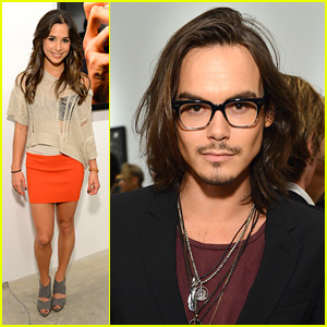 Josie Loren & Tyler Blackburn: 'Mouthful' Exhibit Opening