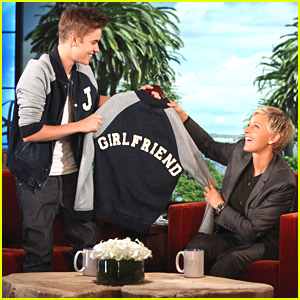 Justin Bieber Graduates & Announces Tour on Ellen!