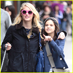 Leven Rambin & Bailee Madison Hang in Vancouver