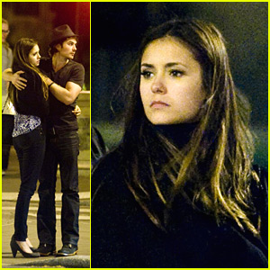 Nina Dobrev & Ian Somerhalder: Promenade in Paris