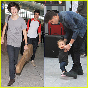 One Direction Heads Into Heathrow