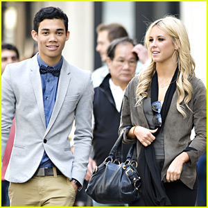 Roshon Fegan & Chelsie Hightower Stroll in SoHo