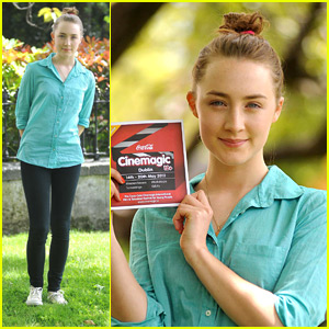 Saoirse Ronan: Belated Birthday Cake with Cinemagic!
