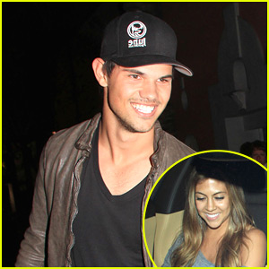 Taylor Lautner & Sara Hicks: Date Night!