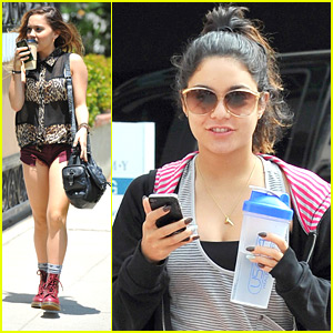 Vanessa Hudgens: Lunch with Sister Stella