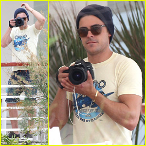 Zac Efron: Cannes Camera-Man