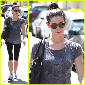 Ashley Greene: Mickey Mouse Club Tee!