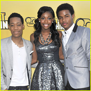 Coco Jones: 'Let It Shine' Premiere with Tyler James Williams & Trevor Jackson!