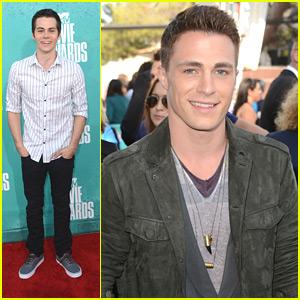 Colton Haynes & Dylan O'Brien - MTV Movie Awards 2012