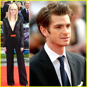 Emma Stone & Andrew Garfield: 'Spider-Man' in London!
