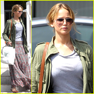 Emma Stone on Jennifer Lawrence: 'She Gave Me Courage To Play Gwen Stacy'