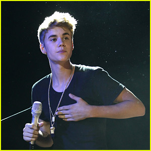 Music Videos Justin Bieber on Justin Bieber  Music In Milan    Justin Bieber   Just Jared Jr