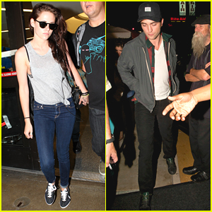 Kristen Stewart: Casual & Cool at LAX