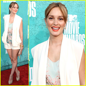 Leighton Meester - MTV Movie Awards 2012