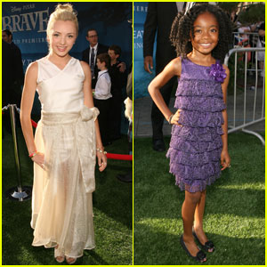 Peyton List: 'Brave' Premiere with Skai Jackson