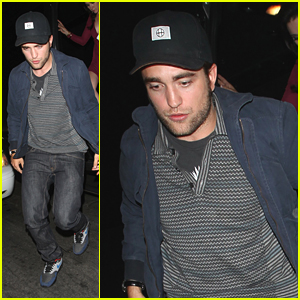 Robert Pattinson: Bootsy Bellows Night Out