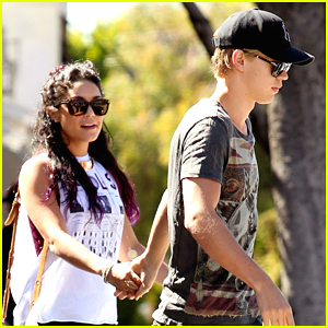 Vanessa Hudgens: Sun Cafe with Austin Butler