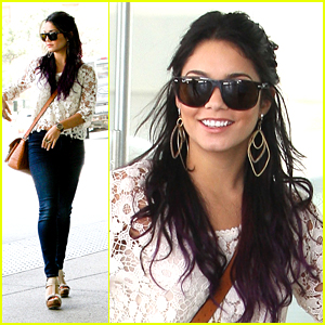 Vanessa Hudgens: Meeting Day with Mom