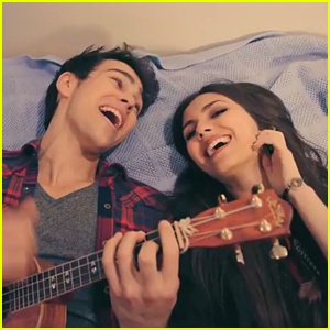 Victoria Justice &#038; Max Schneider: Bruno Mars Medley Video!