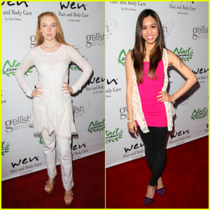 Ashley Argota &#038; Molly Quinn: Nail Garden Girls