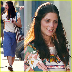 Ashley Greene: First Day on 'CBGB'