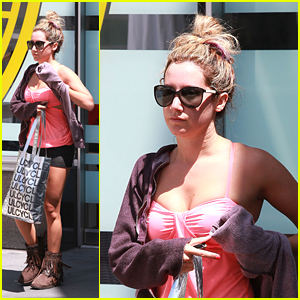 Ashley Tisdale: Excited For 'Step Up Revolution'