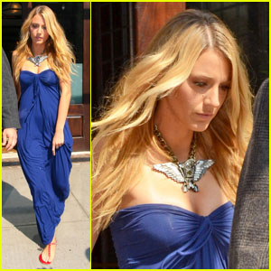 Blake Lively: NYC Blues
