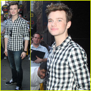 Chris Colfer: 'GMA' Appearance!