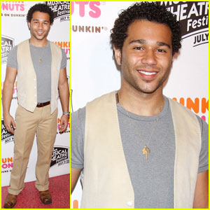 Corbin Bleu: NYMF Host!