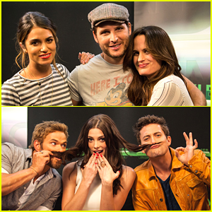 Ashley Greene & Jackson Rathbone Chat Movies on Demand at Comic Con 2012