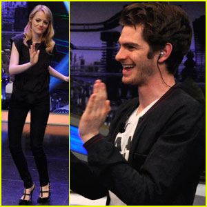 Emma Stone &#038; Andrew Garfield: 'El Hormiguero' Appearance!