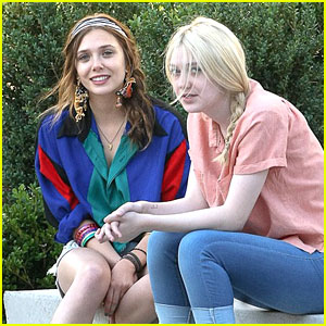 Dakota Fanning & Elizabeth Olsen Are 'Very Good Girls'