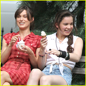 Hailee Steinfeld: Ice Cream with Keira Knightley