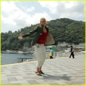 Hayley Kiyoko Dances All Over Japan - Watch Now!