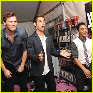Jean-Luc Bilodeau: Teen Choice Awards 2012