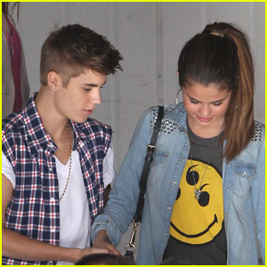 Justin Bieber &#038; Selena Gomez: Children's Hospital Visit!